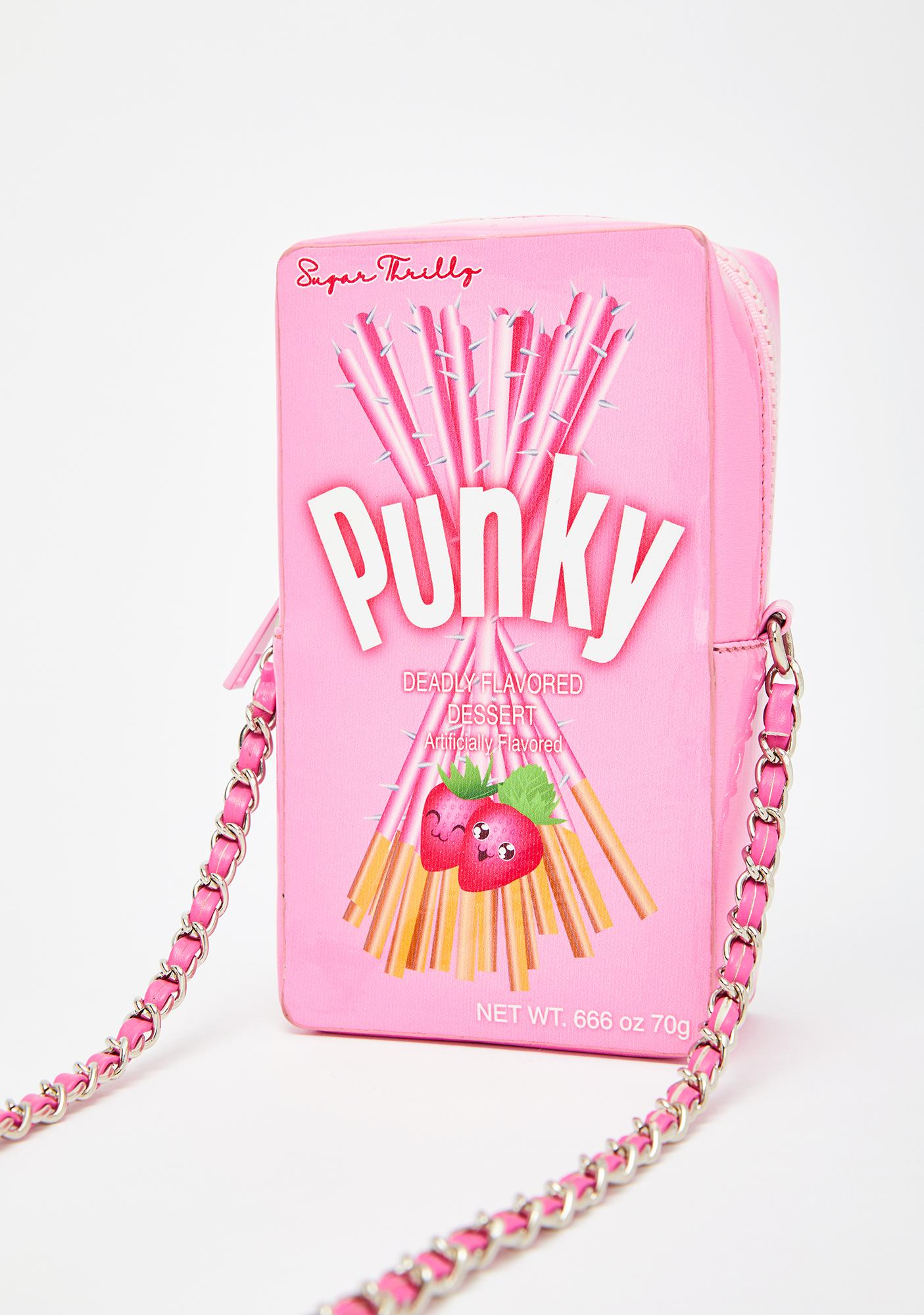 Sugar Thrillz Snakk Attakk Crossbody Bag