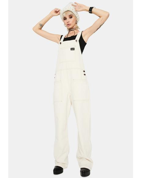 Twill Patch Pocket Dungarees