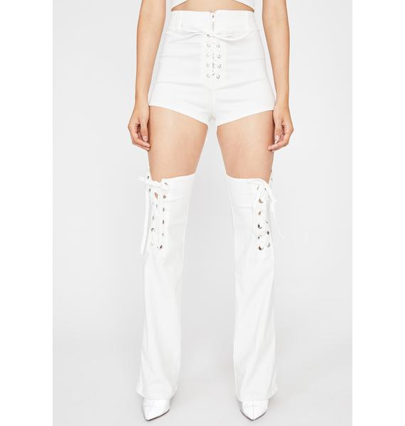 Icy Giddy Up N' Go Lace Up Pants