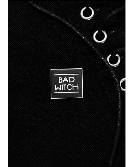Bad Witch Pin