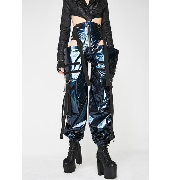 Namilia Glossy Panty Trousers