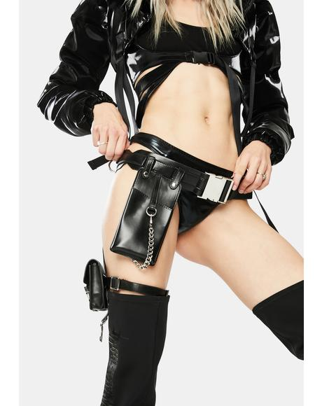 Taking Names Garter Belt Bag