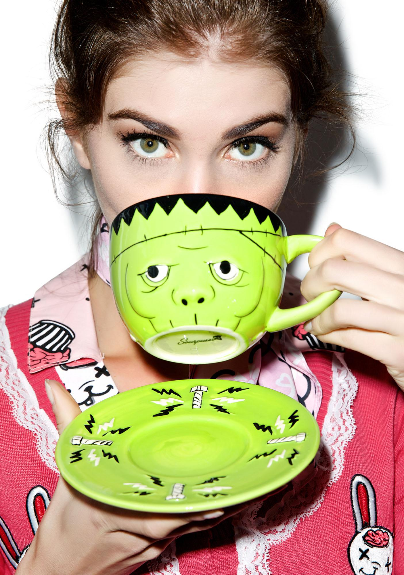 Sourpuss Clothing Monster Tea Set
