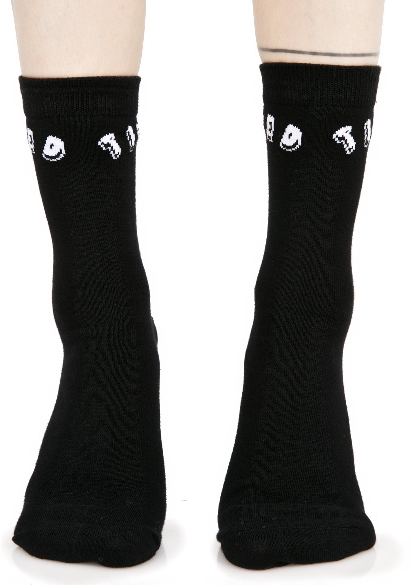 Killstar Tired Ankle Socks