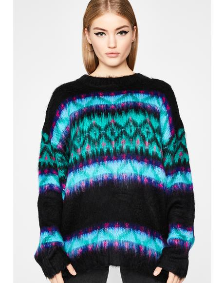 Ur Great Grandpa Knit Sweater