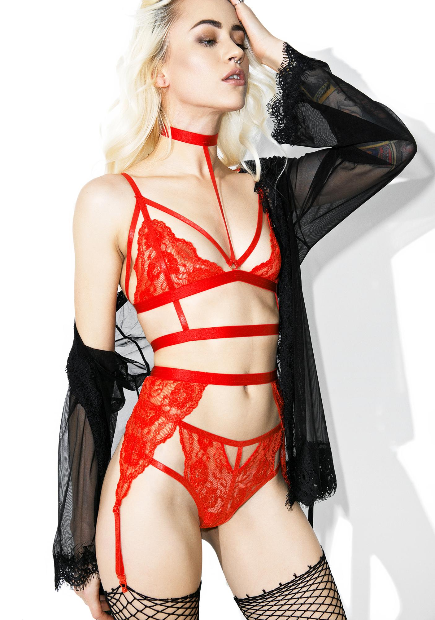 Hott Rebel Belle Lingerie Set