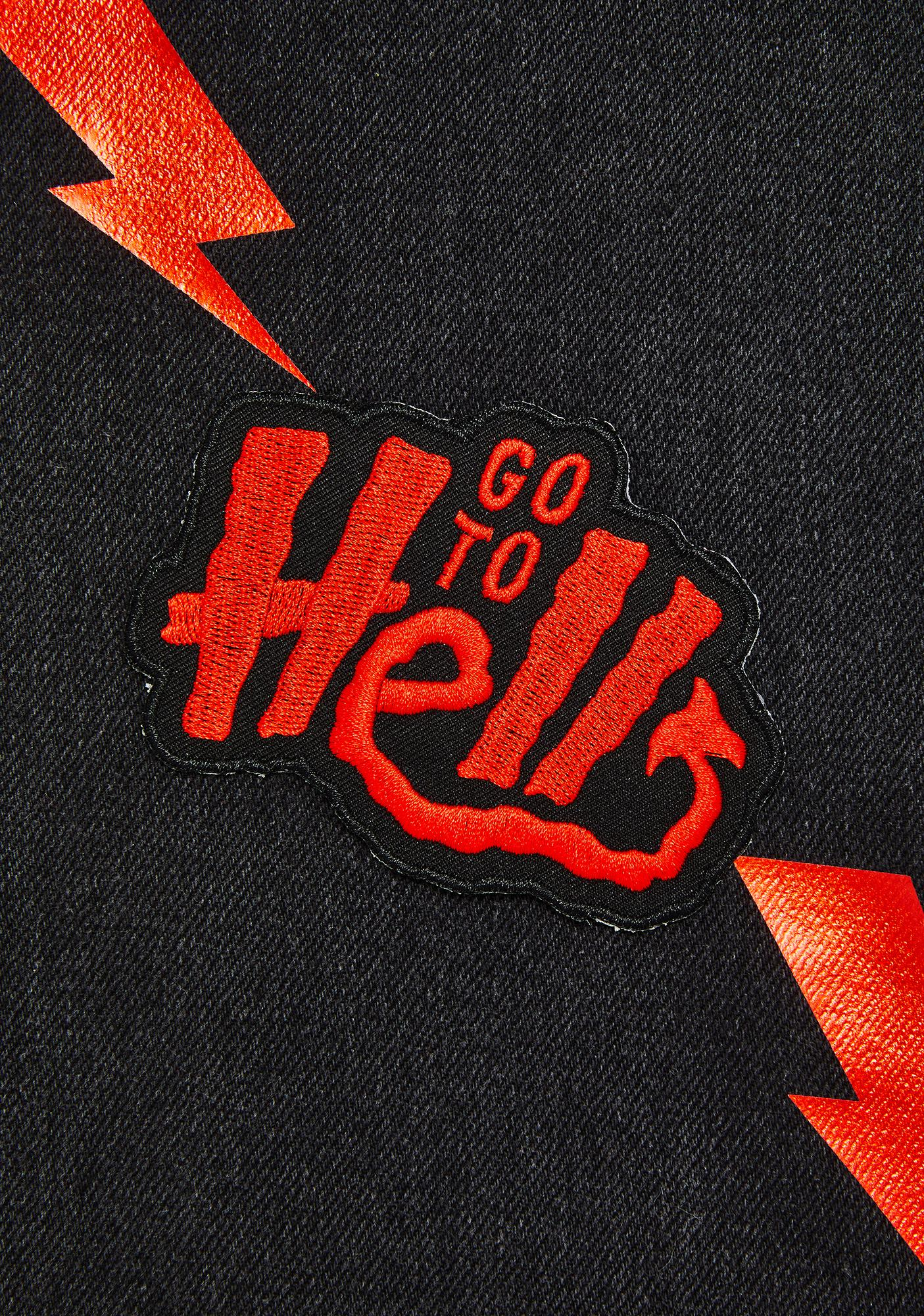 Sourpuss Clothing Go To Hell Patch