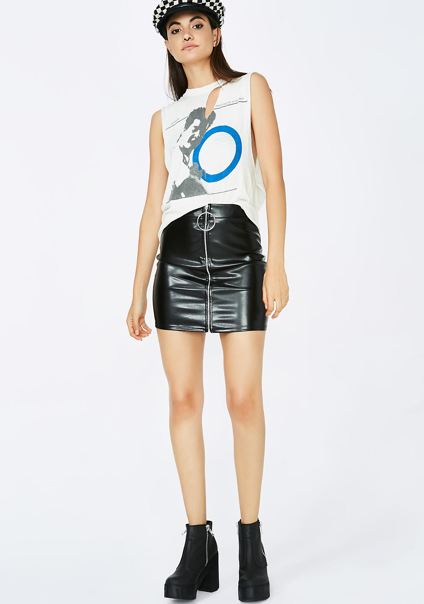Mob Minded Mini Skirt