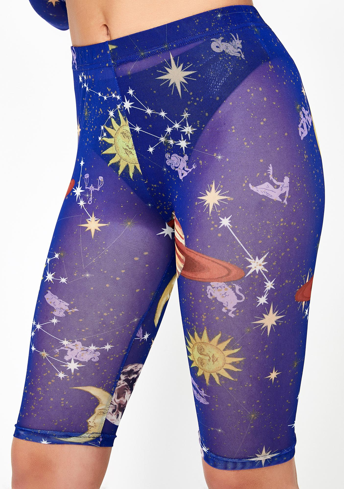 HOROSCOPEZ Astro World Biker Shorts