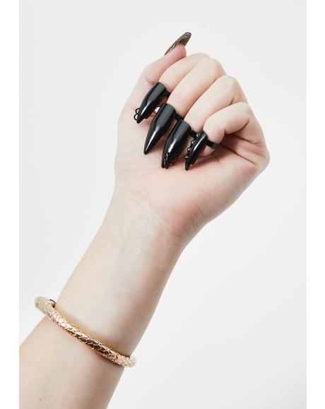 Pierced Pretty Ring Set