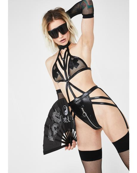 Freak Me Harness Bodysuit