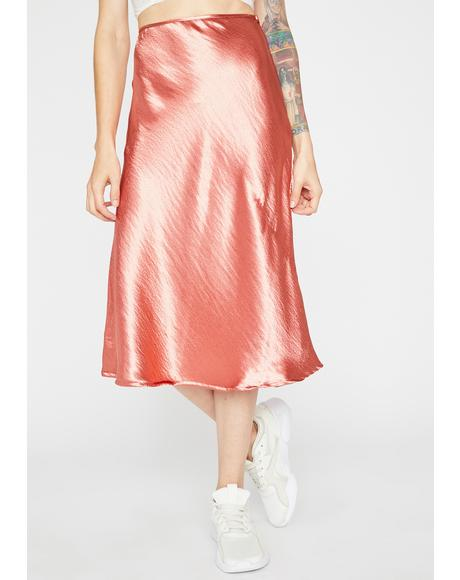 She's Timeless Midi Skirt