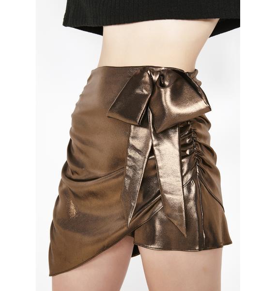For Love & Lemons Blackjack Mini Skirt