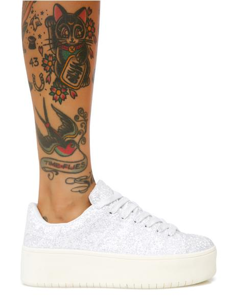 Shimmer Shock Glitter Sneakers