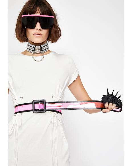Seeing Clearly Transparent Belt