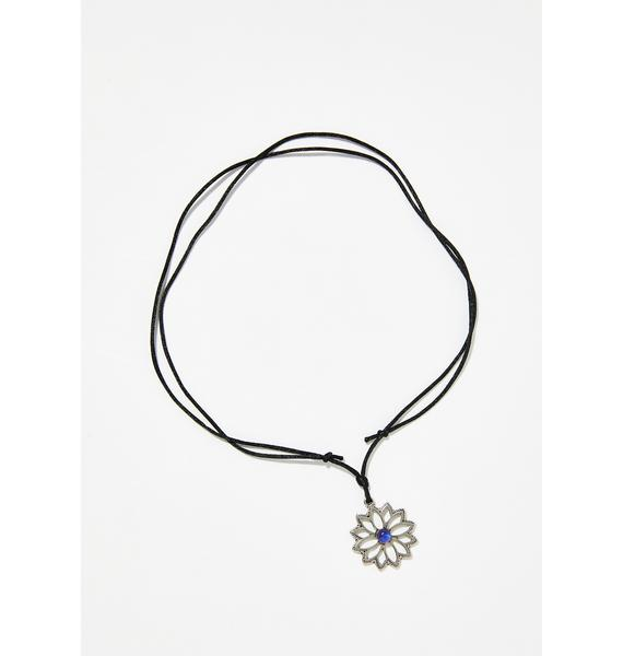 Fantasy Mood Flower Necklace