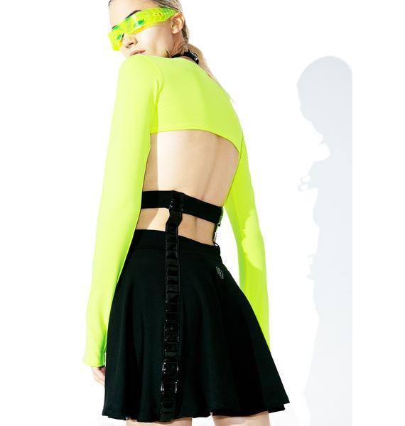 Cyberdog Cage Skirt