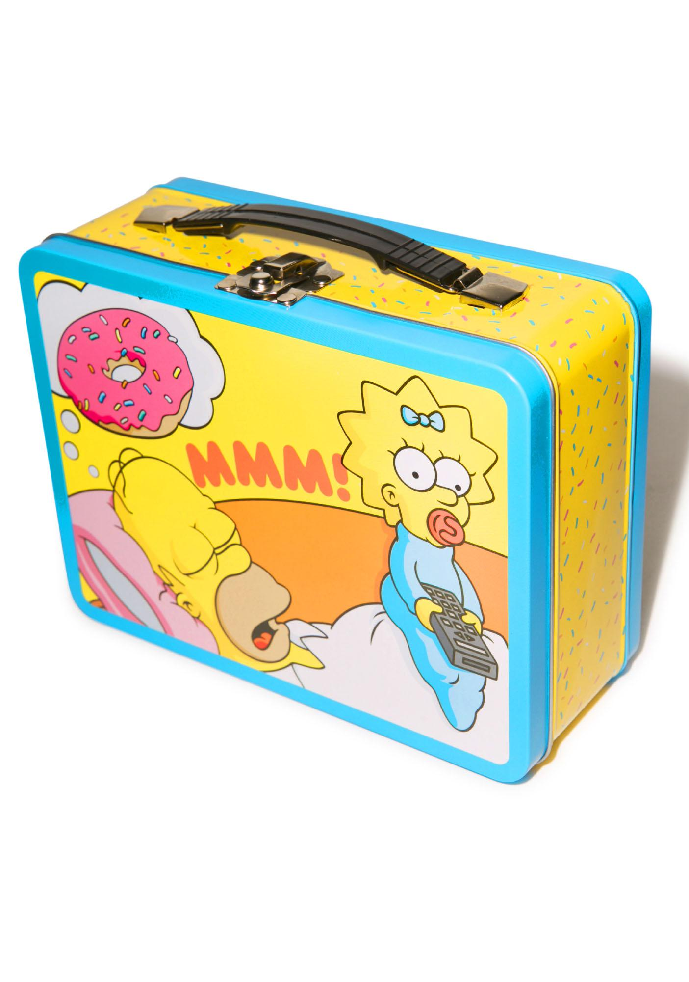 The Simpsons Large Tin Tote