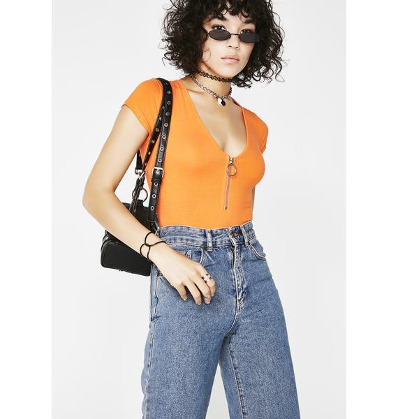 Glamorous Tasty Tropics O-Ring Bodysuit