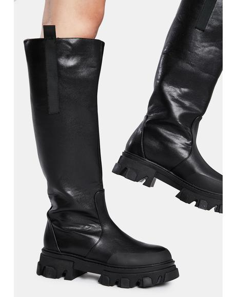 Genius Knee High Boots