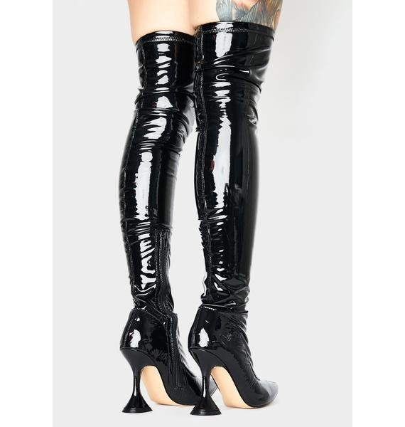 Vivacious Vixen Thigh High Boots