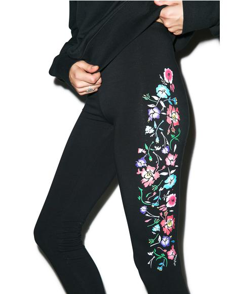 Isis Flower Leggings