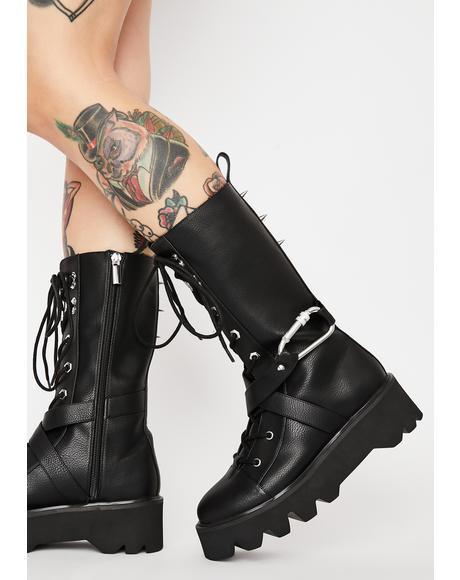 Nihilist Combat Boots
