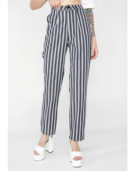 Salty Stripe Horizon Pants