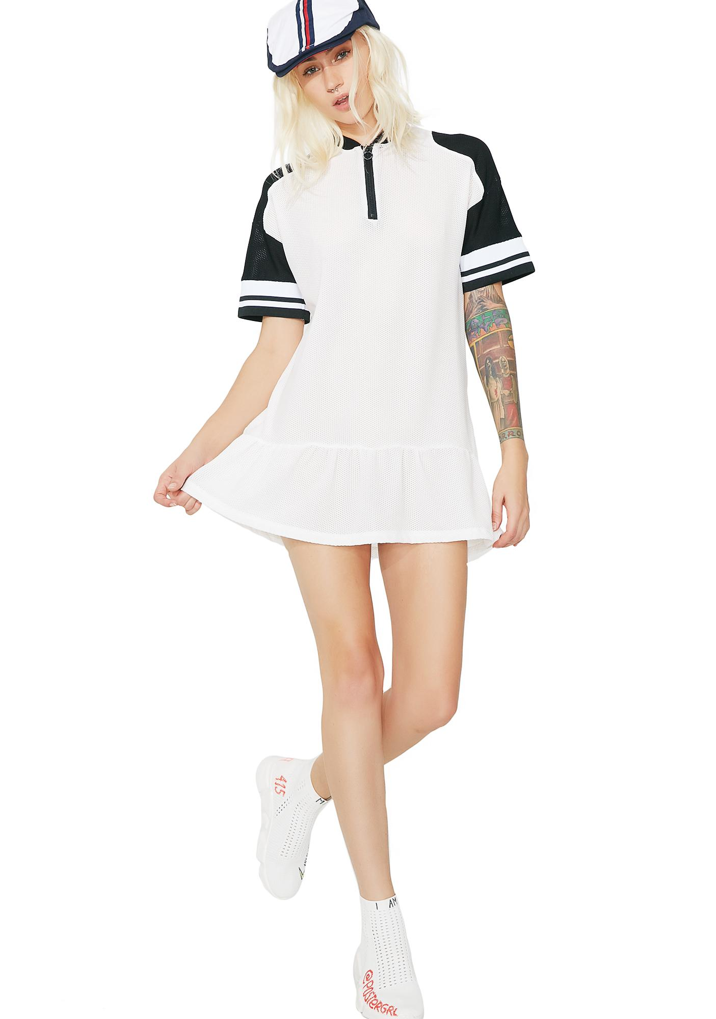 OKAYLA Half Zip Dress