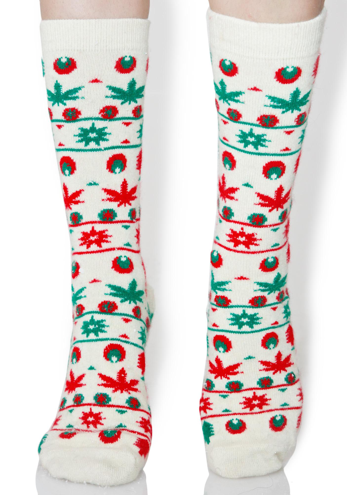 HUF Tinsel Crew Socks