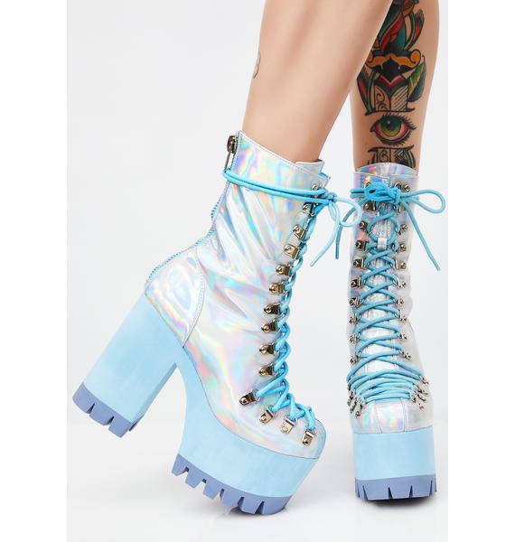 Club Exx Frostbitten Platform Boots