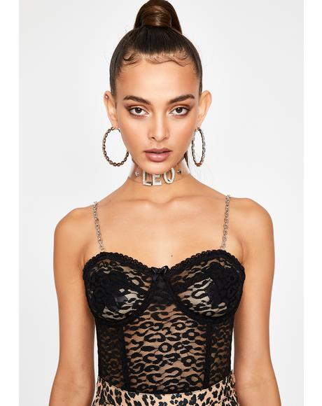 Cat's Meow Lace Bustier
