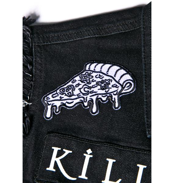 Killstar Pizza Slice Patch