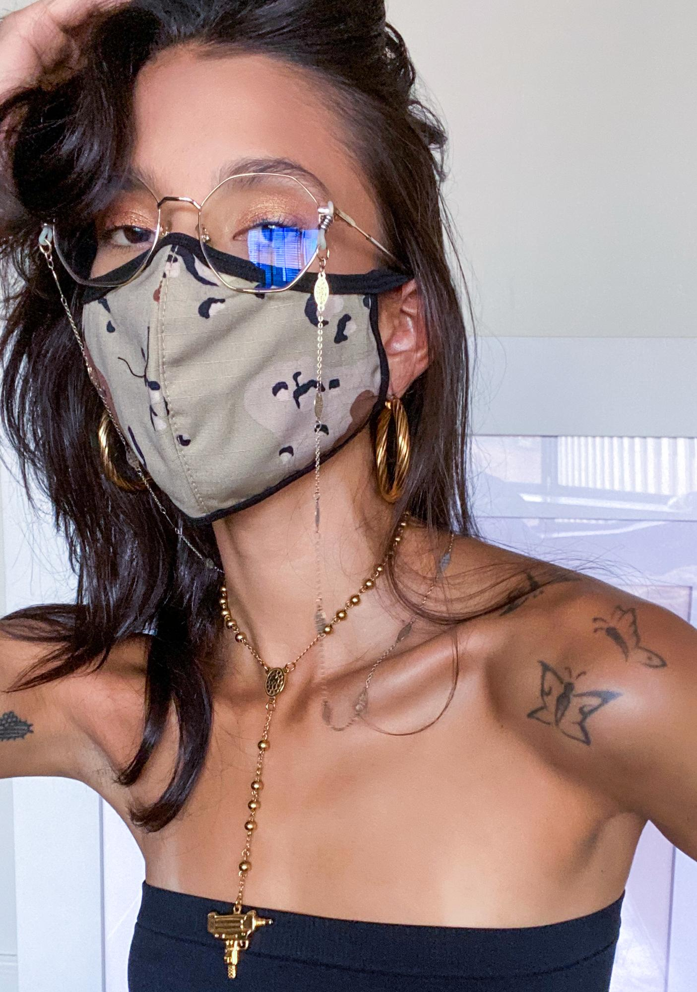 Camo Outta The House Protective Mask