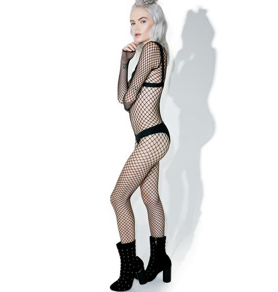 Loophole Fishnet Body Stocking