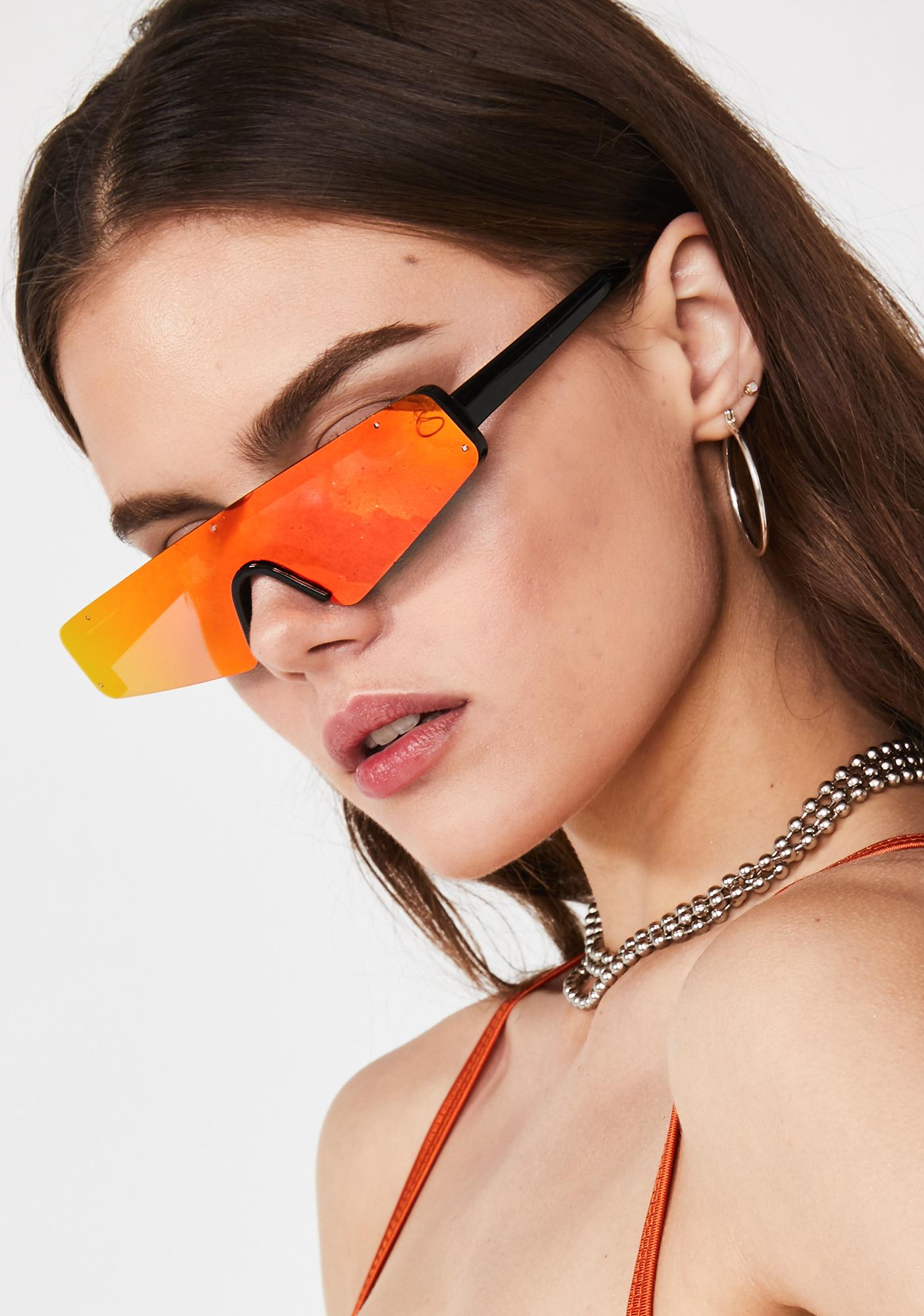 On Deck Reflective Sunglasses