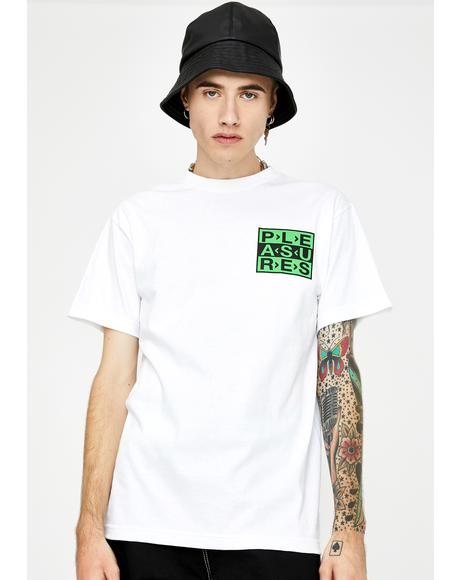 White Fragile Graphic Tee