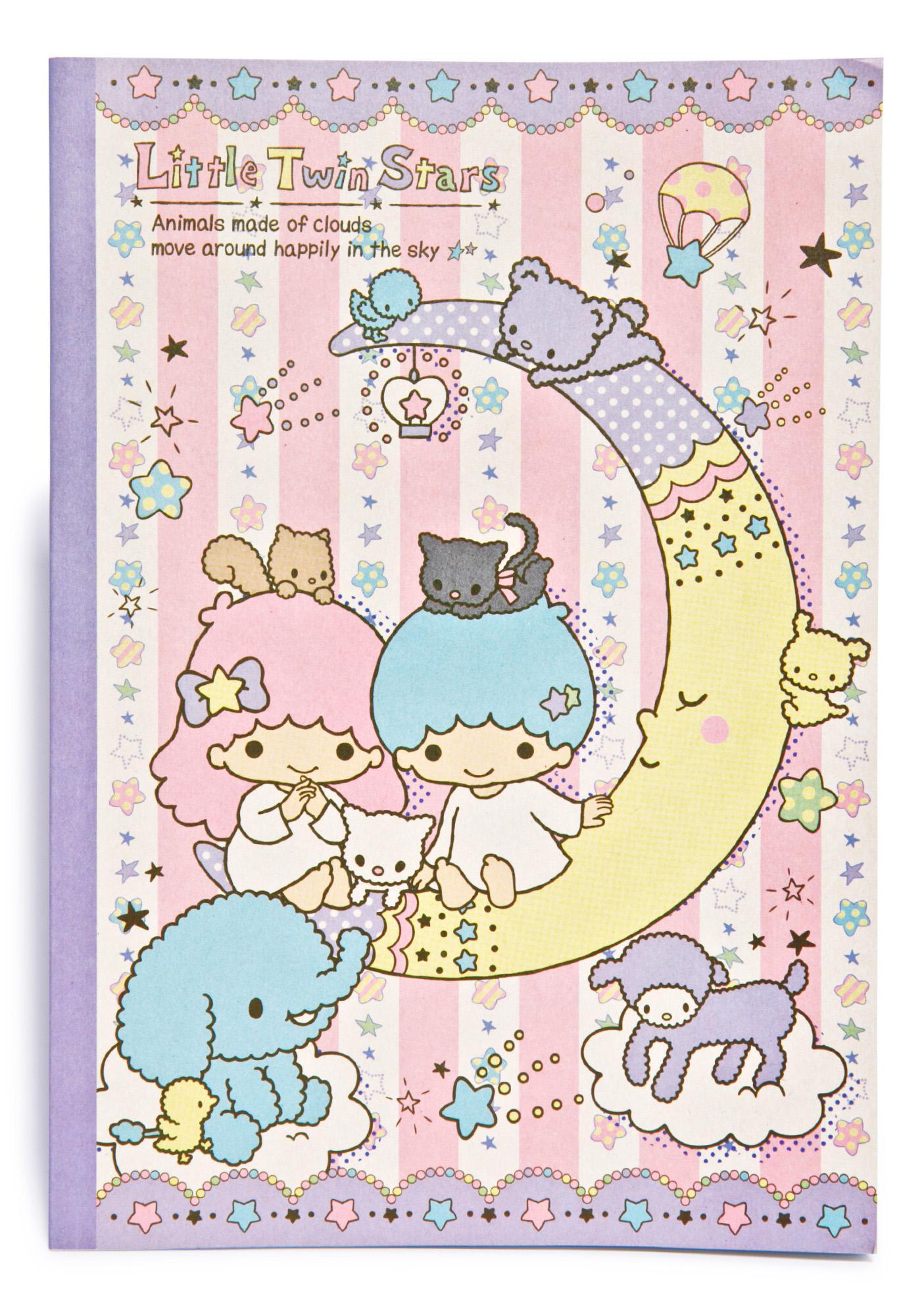 Sanrio Little Twin Stars Notebook