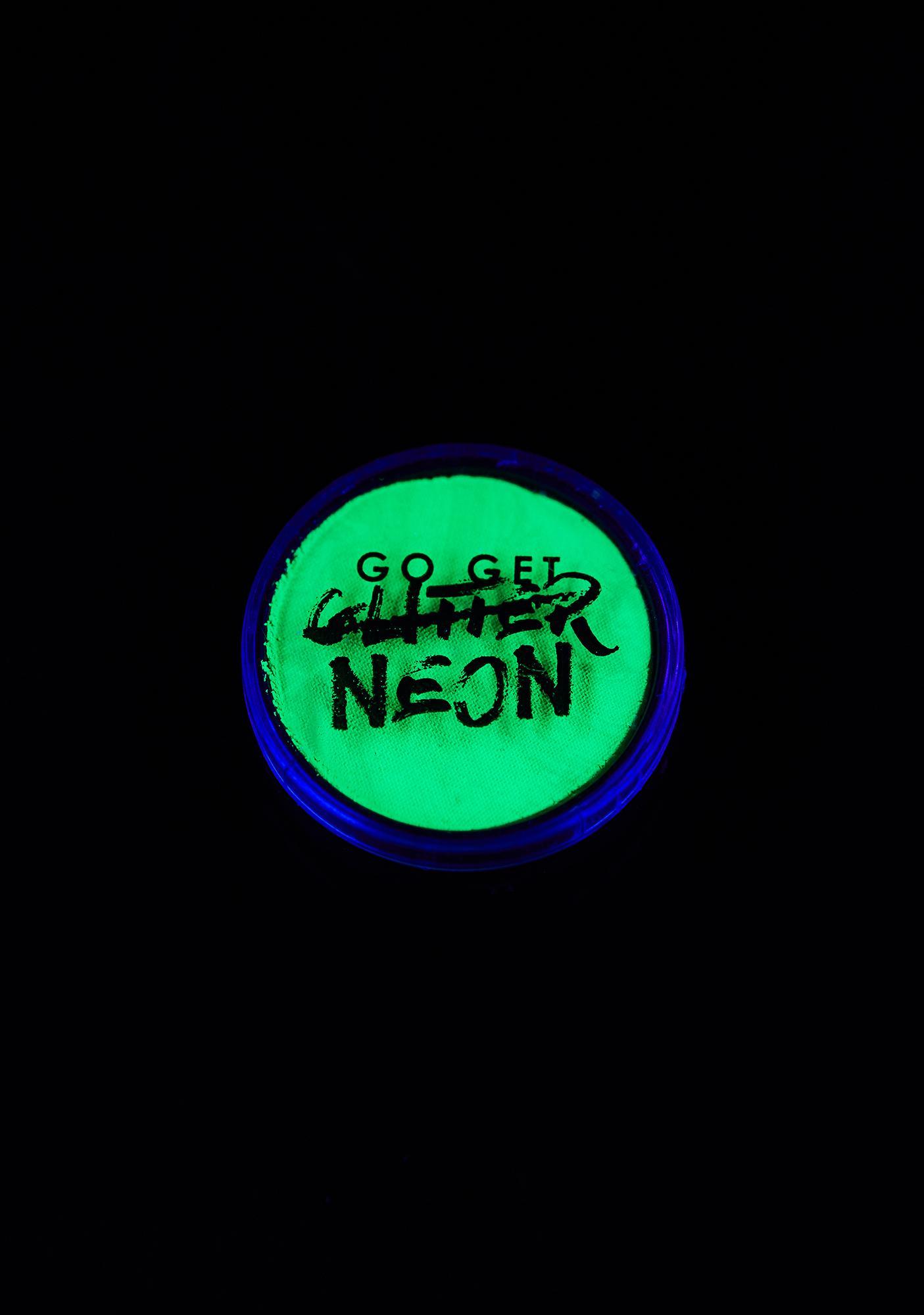 Go Get Glitter Absinthe Neon Face N' Body Paint Pot
