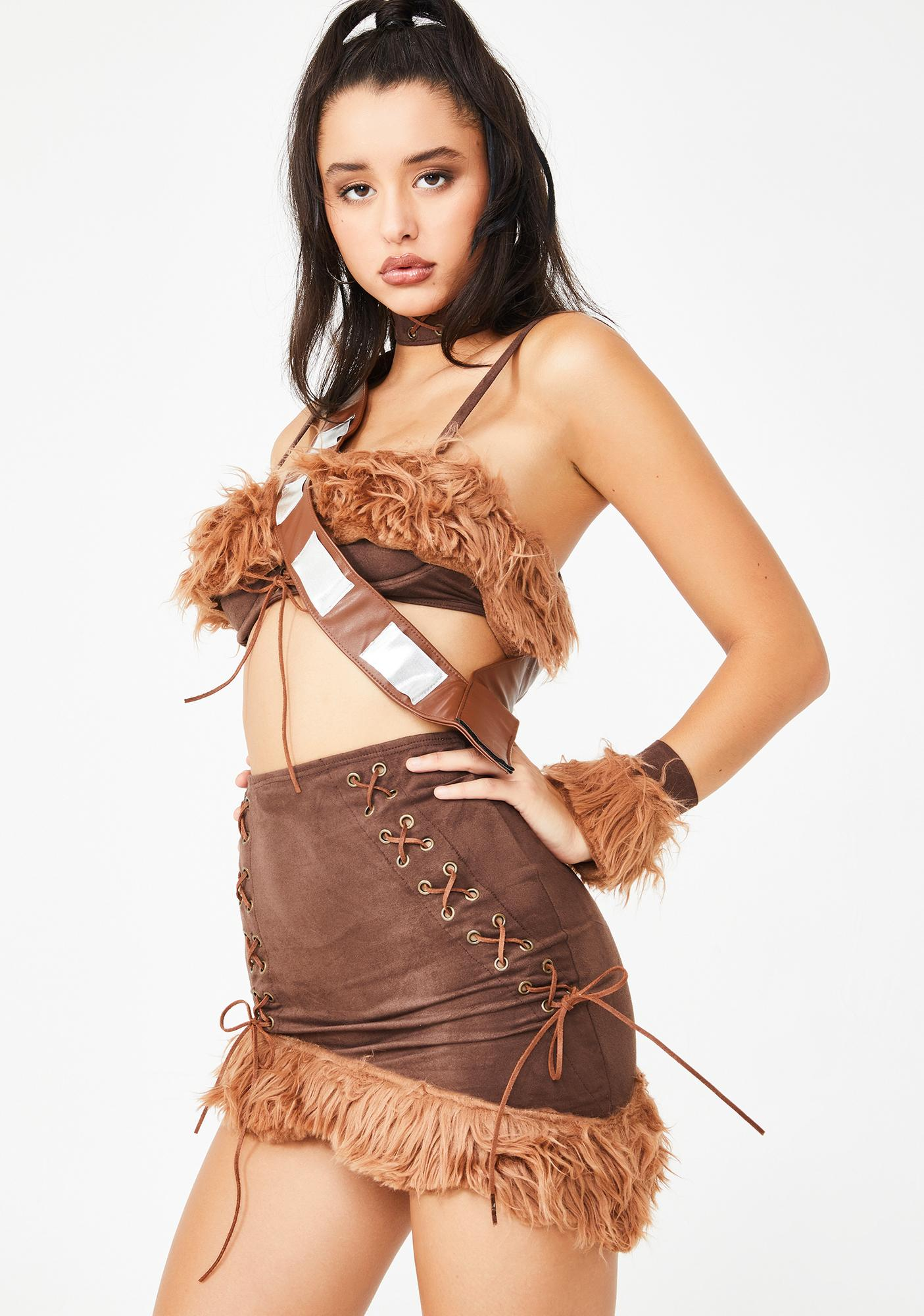 Forplay Wookie Wifey Costume Set