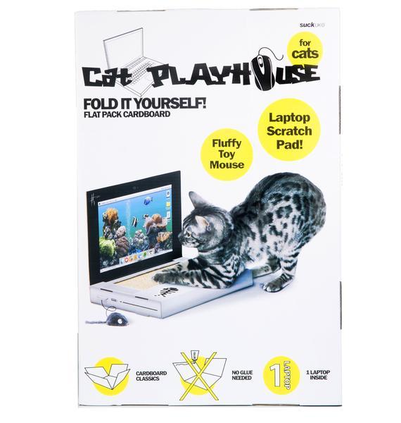 Cat Laptop Scratch Pad