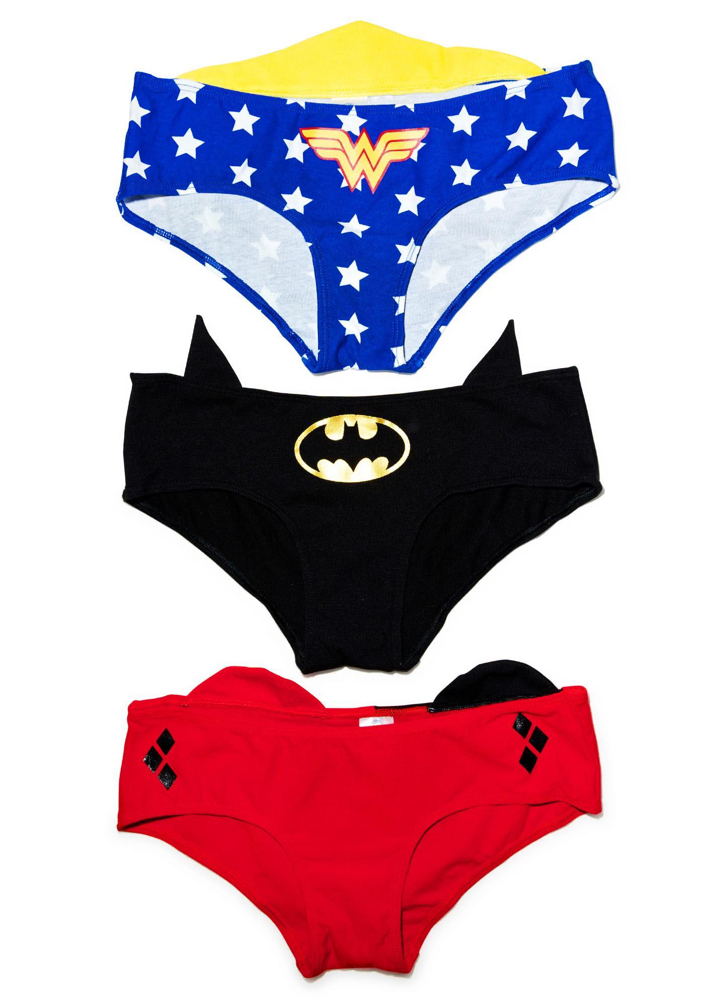 Undergirl Justice League 3-Pack Panties