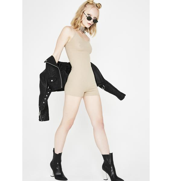 Do The Impossible Ribbed Romper