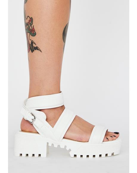 Play Grl Platform Sandals