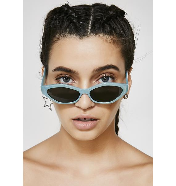 Stop N' Stare Oval Sunglasses