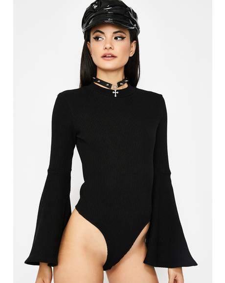 Time Traveler Bell Sleeve Bodysuit