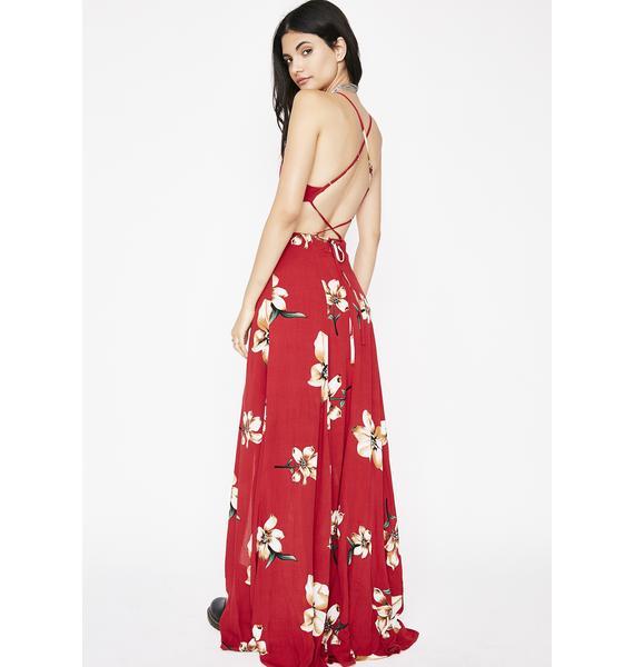 Tropic Haze Maxi Dress