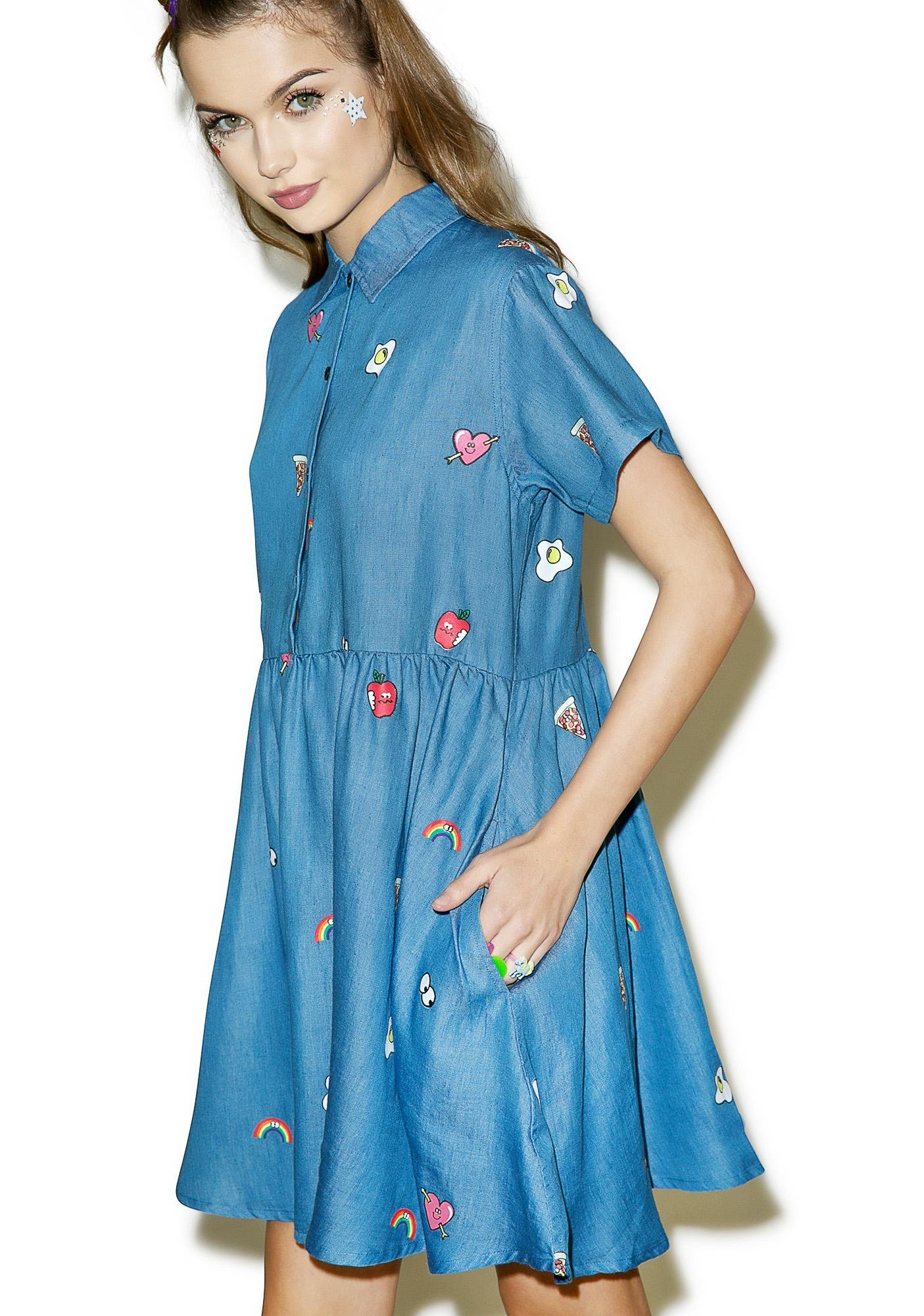 Lazy Oaf Old School Emblem Dress