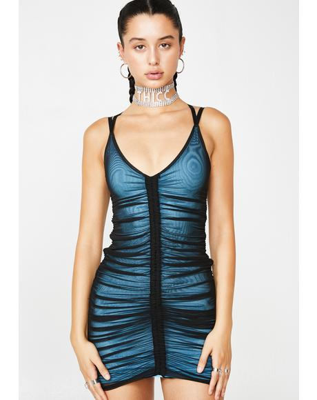 Swipe Right Mesh Dress