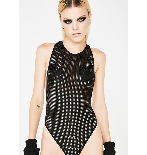Club Exx Wicked Feisty Aphrodite Mesh Bodysuit